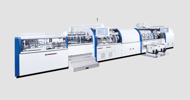 822 Gathering Machine with KM 200 Perfect Binder