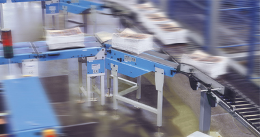 NewsSorter bundle conveyor